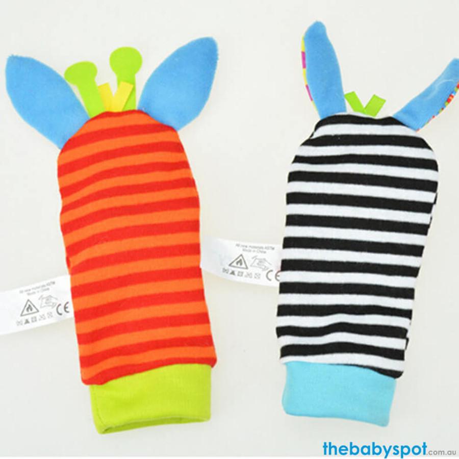 Baby Rattle Socks