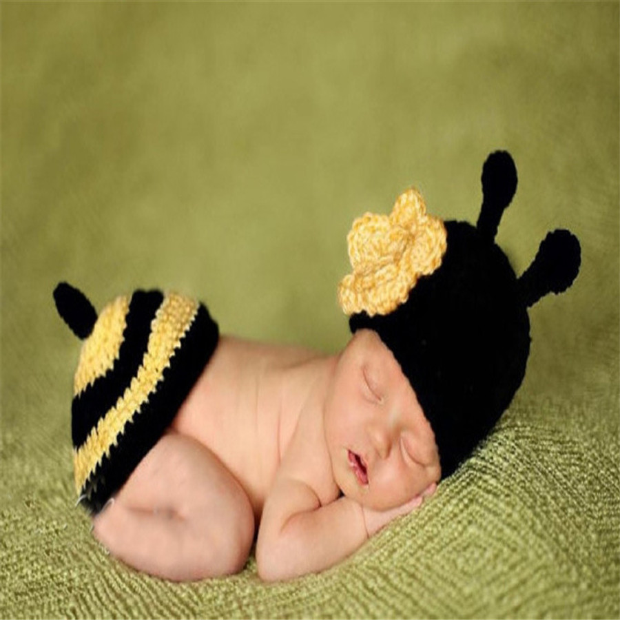 Bumble Bee - Newborn Photography Props