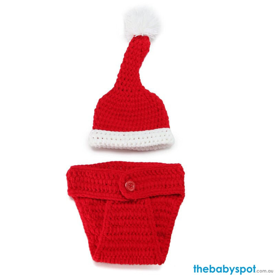 Santa Newborn Photography Props