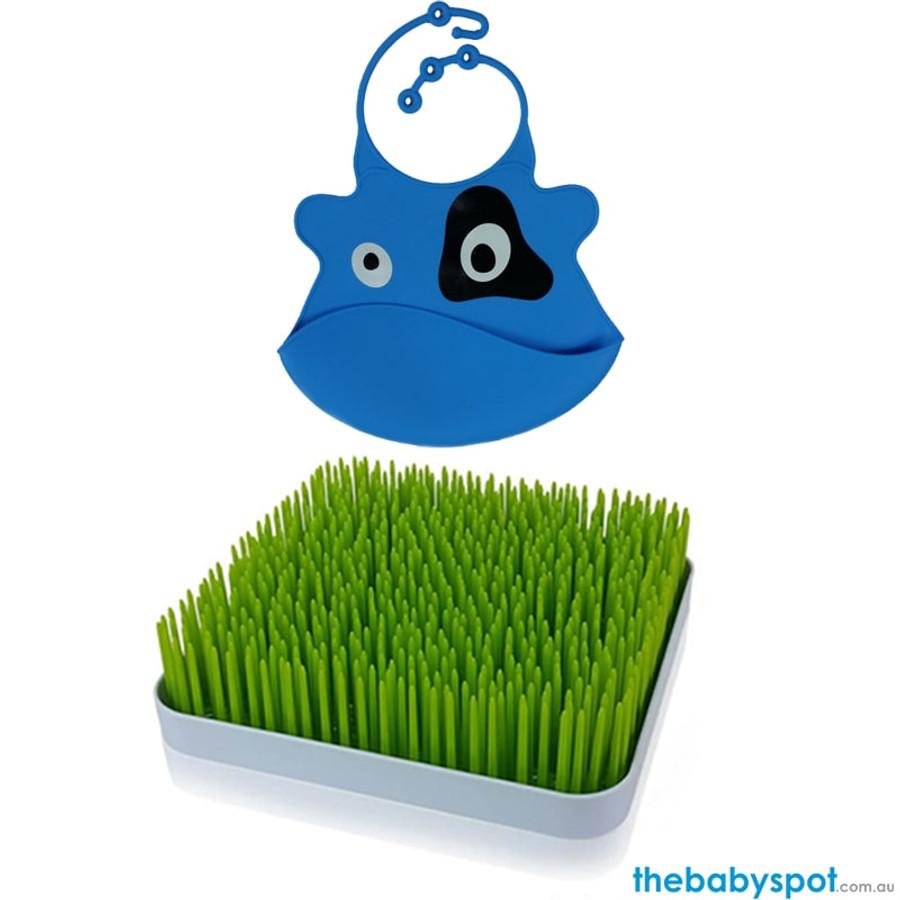 Blue Patch Bib