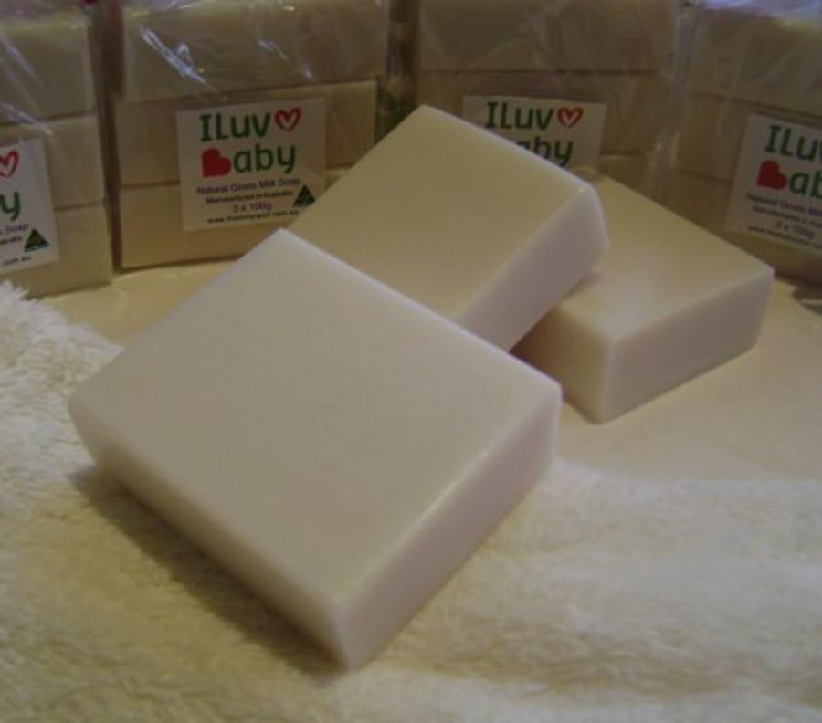 iluvbaby goats milk soap 3 pack
