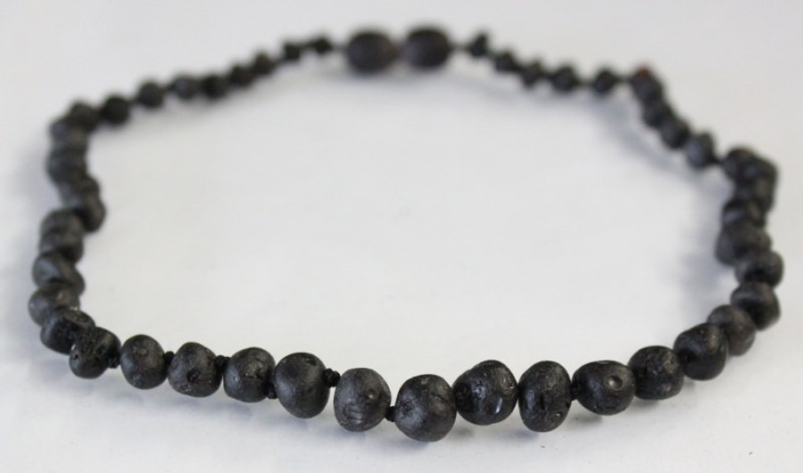 Raw Amber Teething Necklaces  - CHERRY