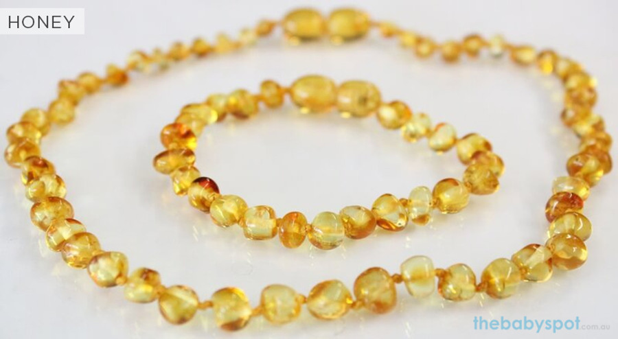 Amber Necklaces for Mum and Baby - HONEY