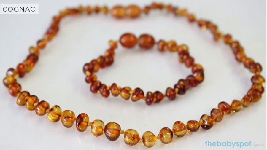 Amber Teething Sets For Baby - COGNAC