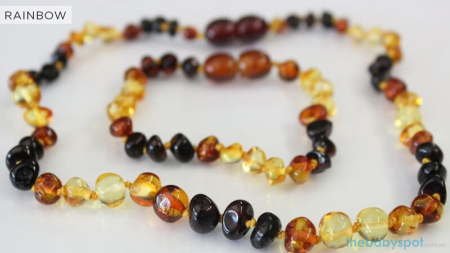 Amber Teething Sets For Baby - RAINBOW