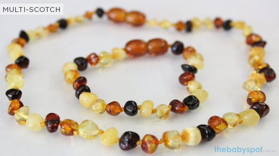 Amber Teething Sets For Baby - MULTI-SCOTCH