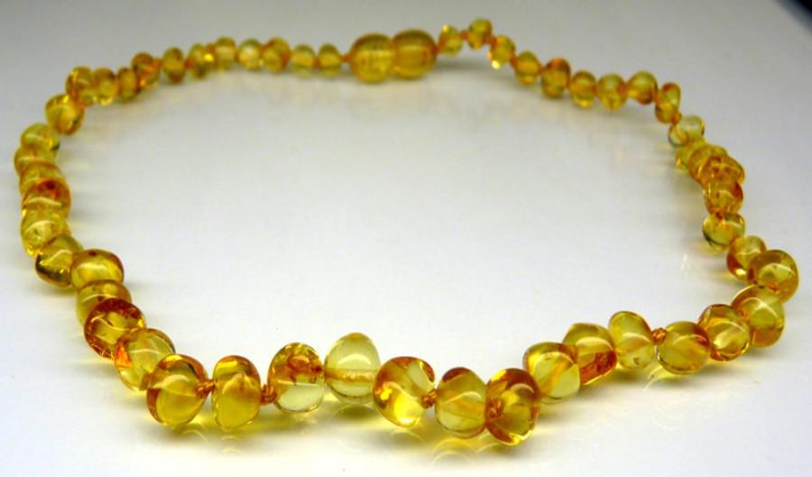 Amber Teething Necklace - Honey