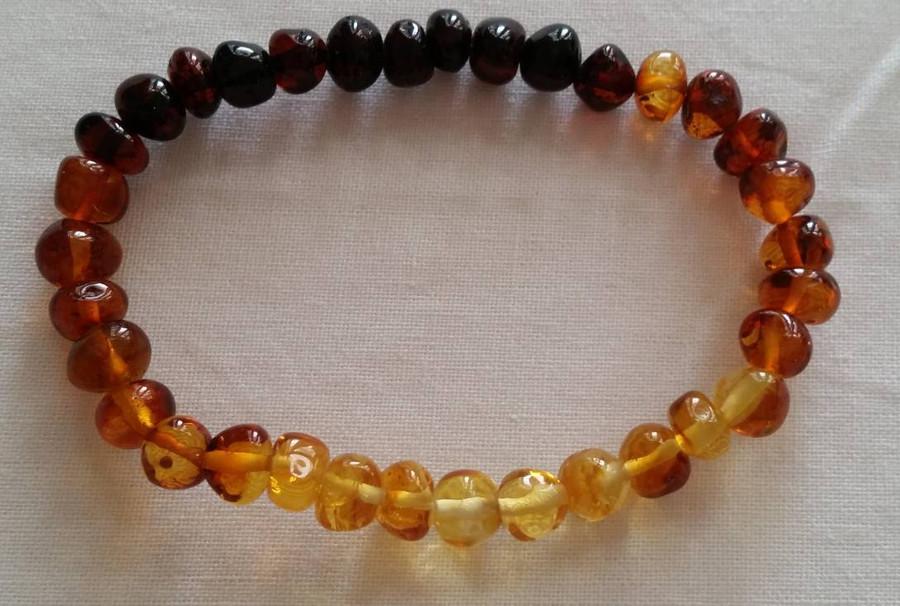 Adult Amber Bracelet - Dew Drop