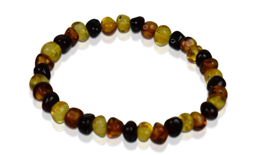 Adult Amber Bracelet - Multi-Color