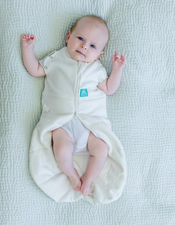ErgoCocoon Zip Up Baby Swaddle 2.5 TOG with arm poppers
