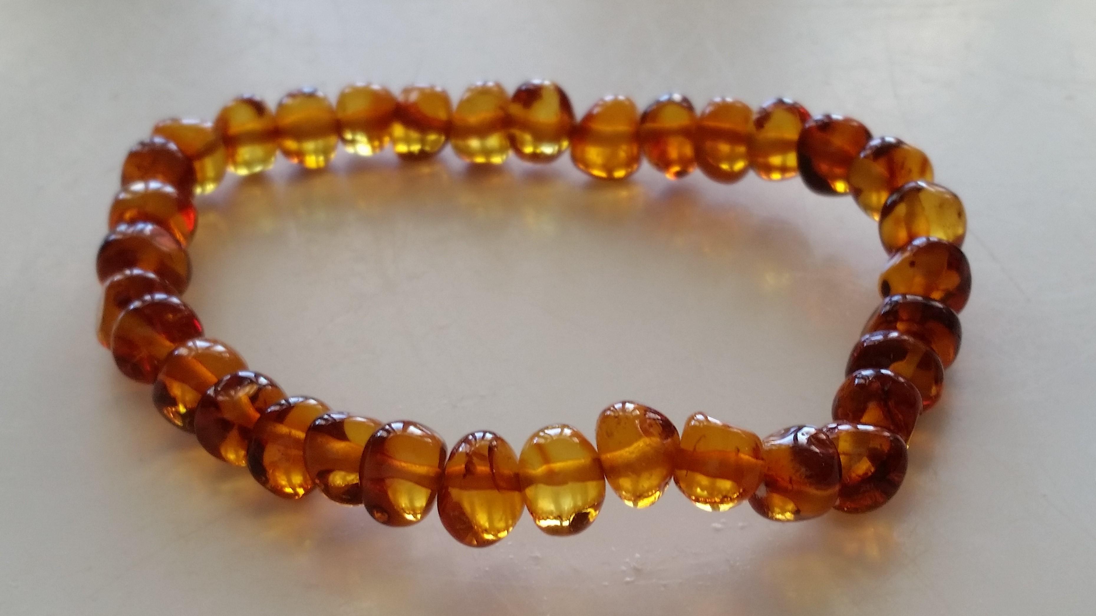 Cognac Adult Bracelet