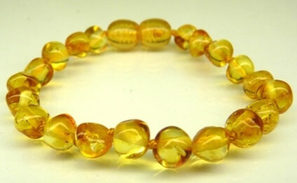 honey amber teething bracelets