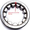 Honda CVT Secondary Pulley Main Bearing