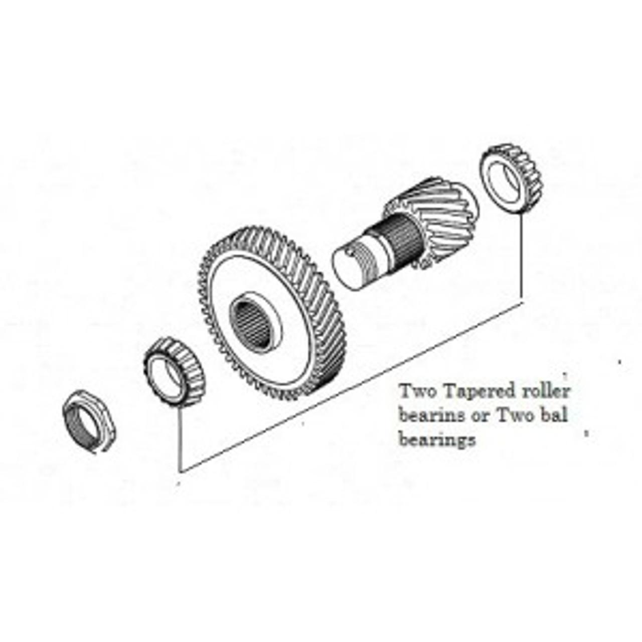 F1C1 Idler shaft Bearing kit ( Bal Bearings )NSK R30=222
