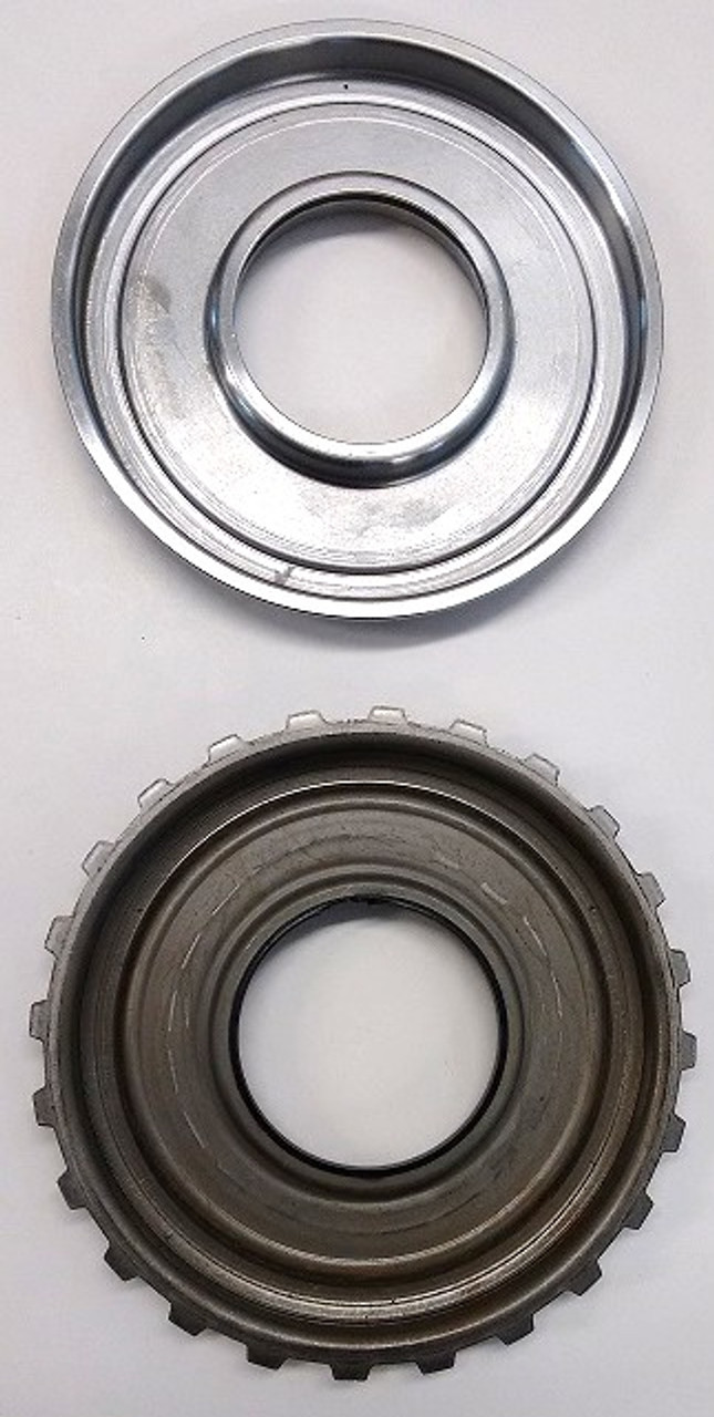 Here you can see the different between the old and New piston