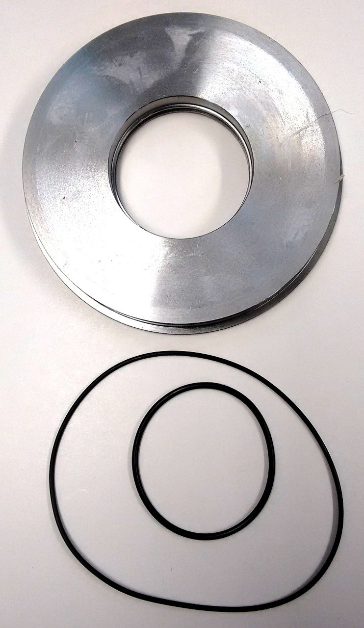 This is a new design piston made from steel with 2 Viton O-Rings  Bottem View