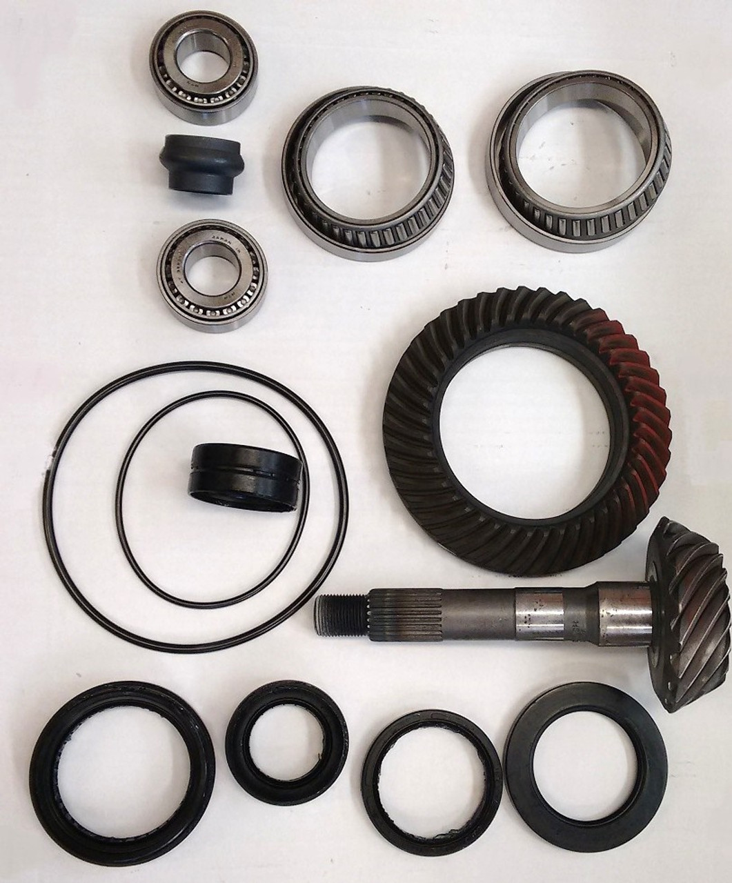This are the parts which are replaced in the transfer case.