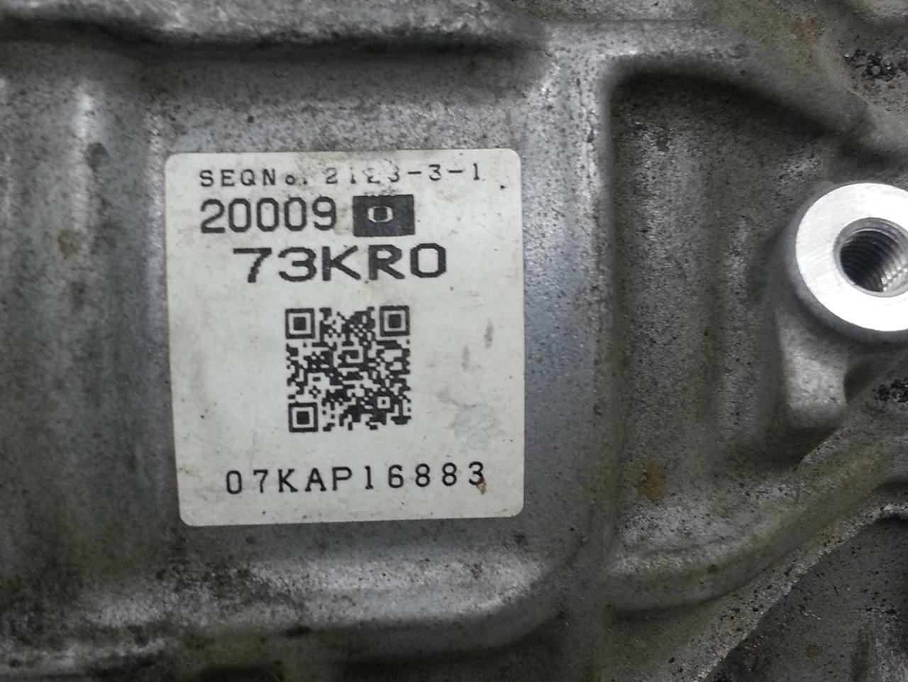 Suzuki Swift CVT Transmission  73KR1