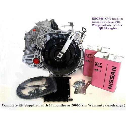 Nissan REOF06A CVT Transmission (QR20)
