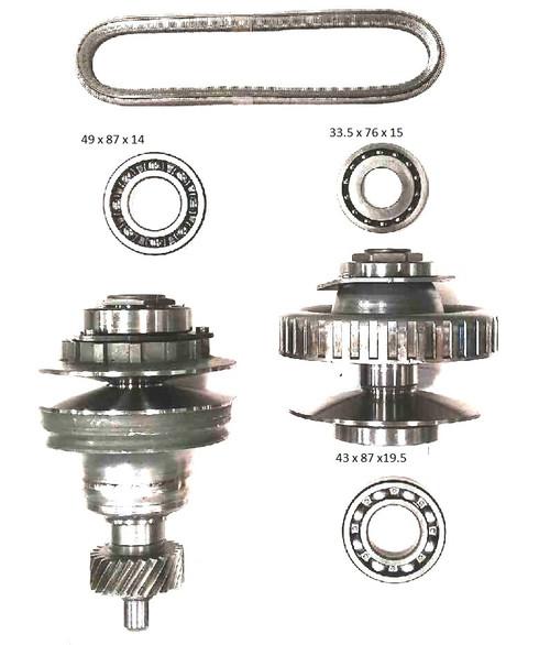 Variator Kit Toyota K310/K311 CVT Transmission