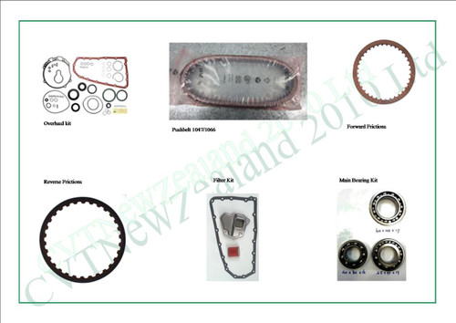 CVT Transmission Overhaul kits - Page 1 - CVT Parts Limited