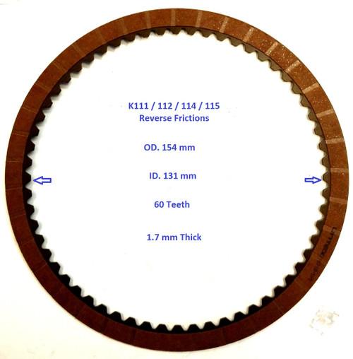 Toyota K111/112  Reverse  Friction disc