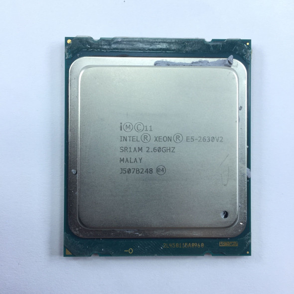 Intel Xeon Processor E5-2630 v2 SR1AM @3.10GHz
