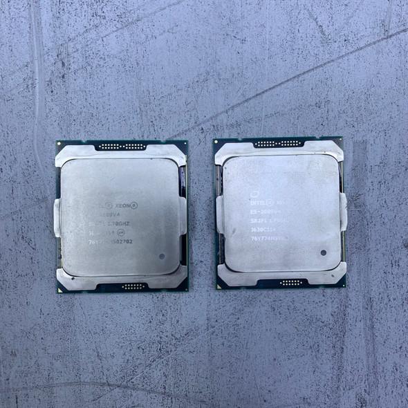 Pair of 2x Intel Xeon E5-2609V4 SR2P1 @1.7GHz Processor