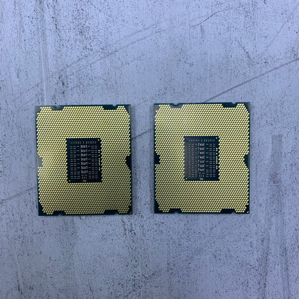Pair of 2x Intel Xeon E5-2660V2 SR1AB 2.20GHz Processor