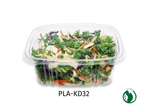 Envase PLA Deli Rectangular  32 oz.