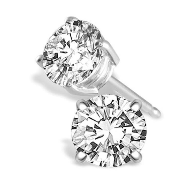 1.50cttw Round Diamond Studs