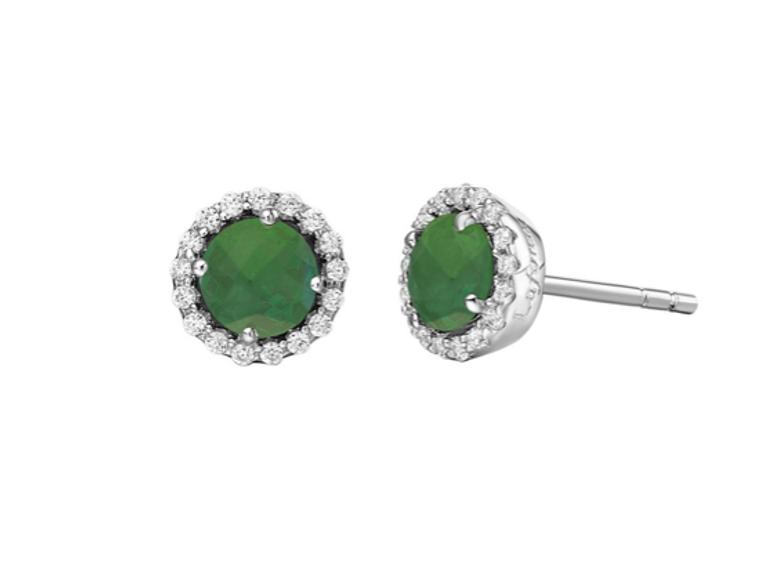 Lafonn May Birthstone Earrings (BE001EMP00)