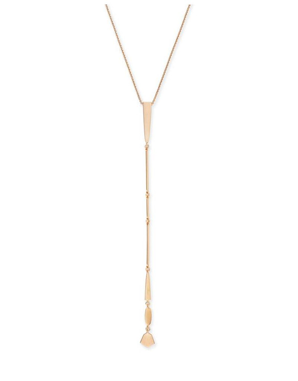Aella Necklace Rose Gold Tone