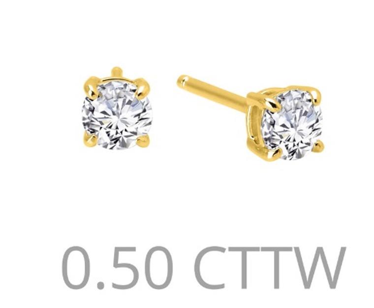 Lafonn Stud Earrings (E0243CLG00)