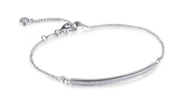 Lafonn Adjustable Bar Bracelet (B0051CLP75)