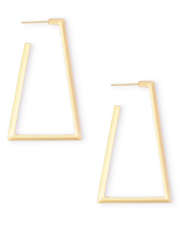 Easton Hoop Earrings in Gold