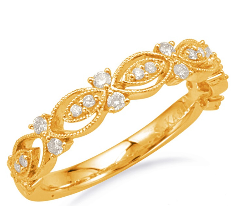 .23cttw Diamond Band (Yellow Gold)