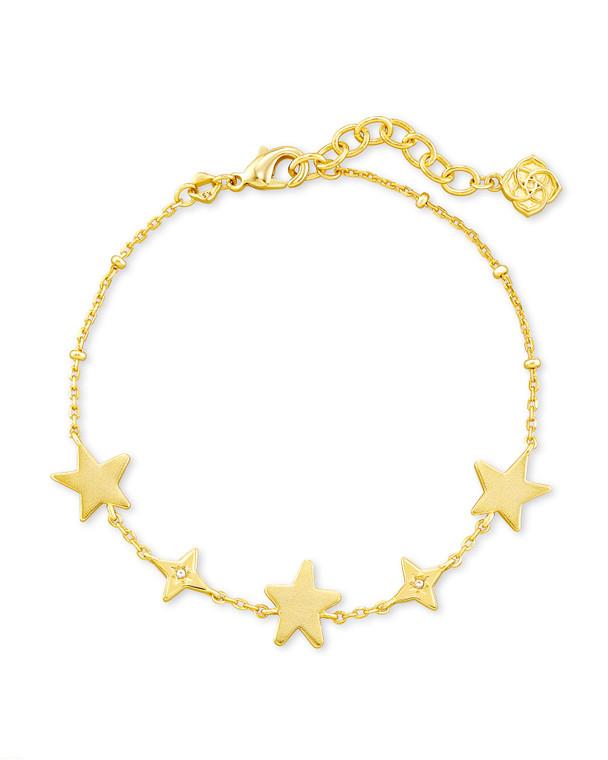 Jae Star Delicate Chain Bracelet Gold Tone