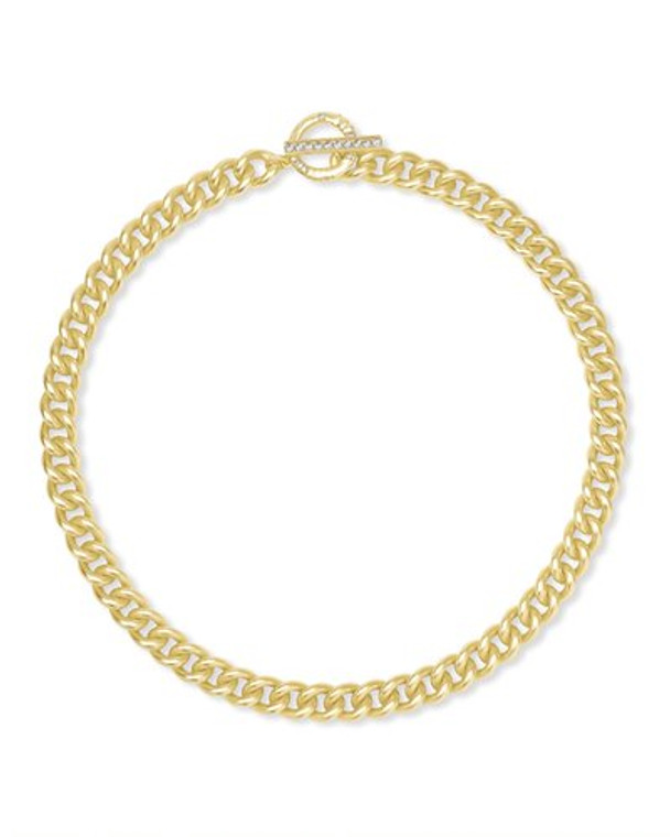 Whitley Chain Necklace- Gold Tone