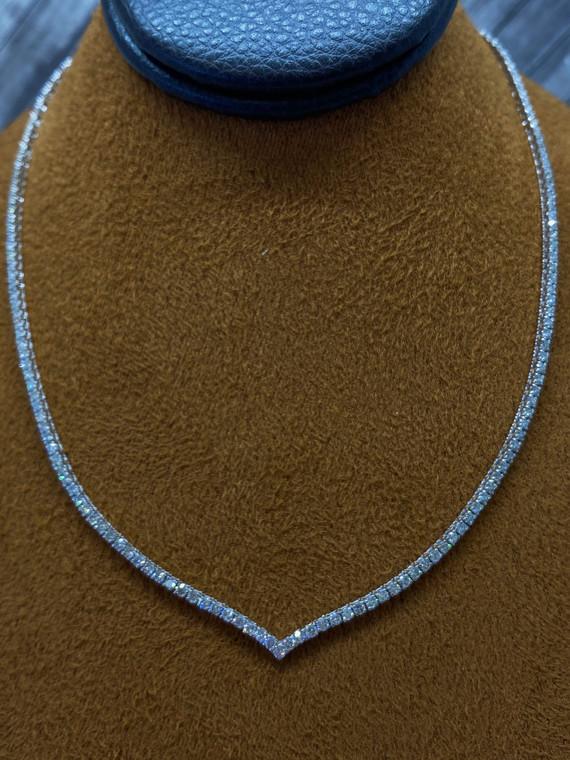 1.50cttw Diamond Tennis Necklace