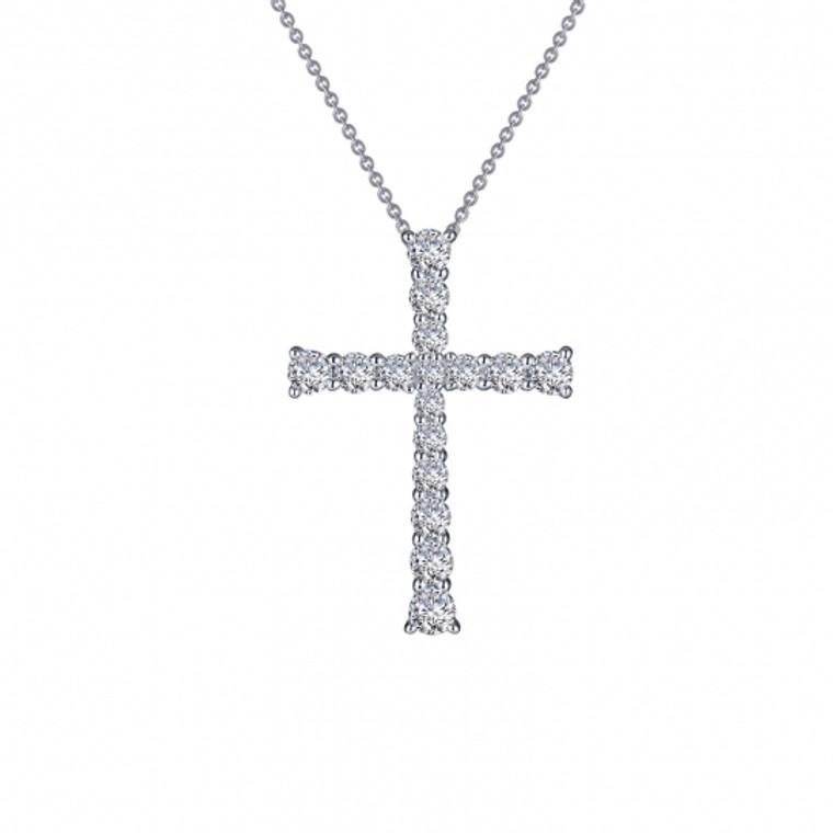 Cross Pendant Necklace (P0208CLP18)