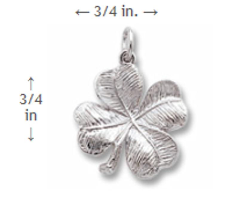 4 Leaf Clover Charm