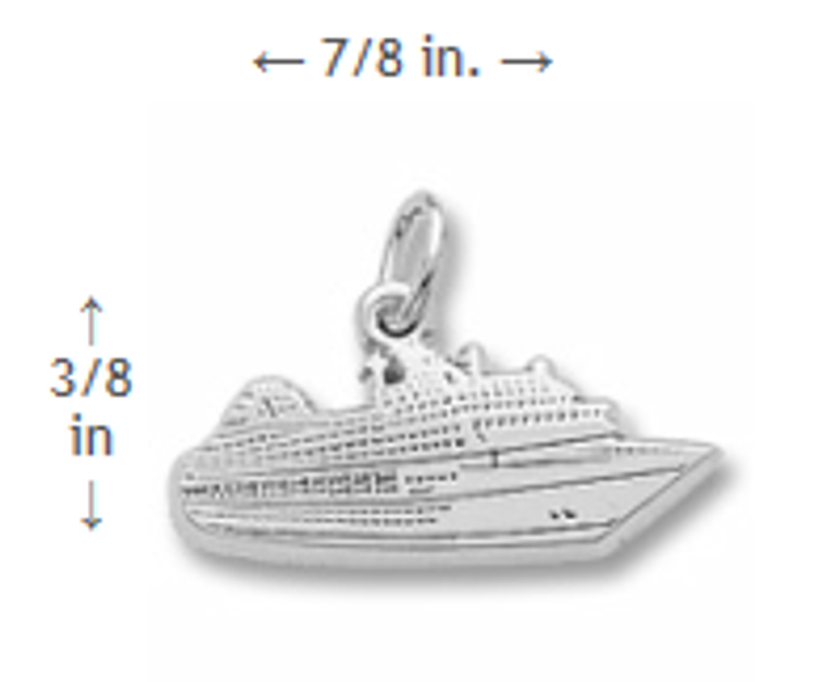 Cruise Ship Charm