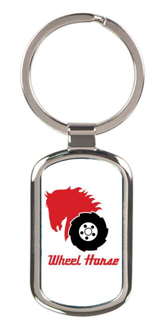 Wheel Horse Keychain