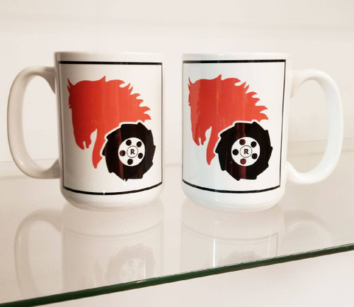 15 ounce Wheel Horse Coffee Mug