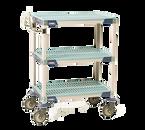 "Metro MXUC1830G-35 Utility Cart 30""W x 18""D 40""H"
