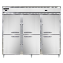 "Continental Refrigerator DL3RRFES-SA-HD 85.25"" W Three-Section Reach-In Designer Line Refrigerator/Freezer"