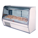 """Howard McCray R-CFS32E-8-BE-LED 98""""W Fish/Poultry Service Case"""