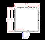 "American Panel 12X12C-O 87.75""H x 139""W x 139""D Outdoor Walk-In Cooler"