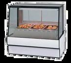 "Federal Industries SG5048HD 50.13""W Slanted Glass High Volume Hot Deli Case"